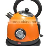 colourful Electric kettle with thermometer