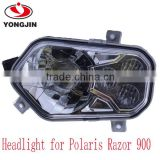New products led headlight for Polaris RZR 800 / 900 XP 900xp 800s Razor ATV UTV