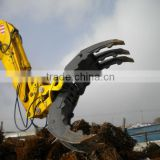 hydraulic rock grapple Log grapple iron grapple for VOLVO EC360B EC290BLC Prime EC240B Prime