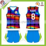 wholesale sleeveless volleyball jersey sublimation custom volleyball jersey design, professional volleyball jersey
