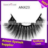 High quality lashes mink eyelash strips wholesale faux mink eyelash extensions with custom box packaging