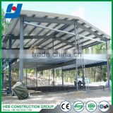 Prefabricated Steel Structure /Steel Construction Curtain Wall Steel Pipe Professional Manufacturer