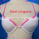 White Sport Bra, Front Closure