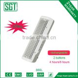 rechargeable 6.0w 100pcs leds emergence light 2 years warranty                                                                         Quality Choice