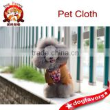 100% Polyester Pink Color Pet Clothes