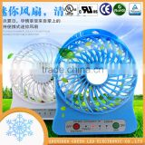 Summer hot sell rechargeable battery mini power fan cheap giveaway gifts wholesale