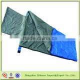 Wholesale multiple use Cushion style Envelope Adult Sleeping bag with pillow case-CP5203