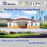 modern and beautiful prefabricated modular homes with lots of applications/european style steel structure prefabricated home