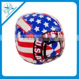 Promotional Gift Low Price Kick Ball Promotional Gift 4 Panel PVC Leather Sandbags Ball Promotional Gift Woven Juggling Ball