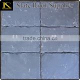 Own factory and timely delivery house decorative cover stone natural black roofing slate tile