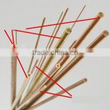 dia 1.0mm copper electrode tube/Dia0.2mm-3.0mm/drill edm