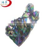 Wholesale natural angel aqua aura quartz crystals gemstone