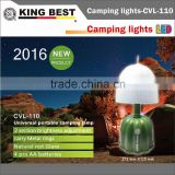 KINGBEST KING BEST Halloween emergency lamp LED Fishing Lantern carry Metal rings portable camping lamp