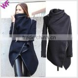 Made in China Women Long Winter Black Dress Coats for Girls                                                                         Quality Choice