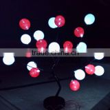 multicolor cotton ball string light battery operated color changing led lights