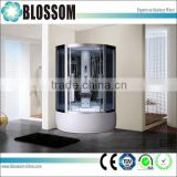 Hangzhou sauna shower cabin manufacturers popular aluminium profile computerized shower cabin and price