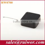 Square Retractable security pull-box for wire harness positioning in electronic equipment