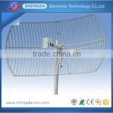 3.5ghz 3400-3600MHz 27db outdoor dual polarized wimax sector antenna with Trade Assurance