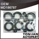 MD186787 Rocker Cover Gasket Set rubber seal for Mitsubishi SPARK PLUG HOLE