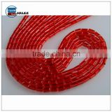 Yiwu crystal beads factory cuboid shape beads road marking glass bead