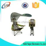 Portable heavy duty Durable Nylon Folding fishing chair