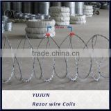 Galvanized Concertina Razor Barbed Wire/Razor Wire Mesh Fencing/China Concertina Razor Wire