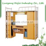 Hot Sale Customized School Furniture Metal Bunk Bed/modern metal bunk beds for bedroom furniture