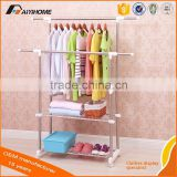 floating metal wire wall corner storage shelf rack