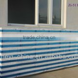 HDPE balcony wind protection