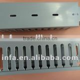 wire way pvc floor cable trunking plastic cable duct trunk
