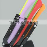 6pcs Non-stick Knife Set/ Color kitchen knife stainless steel