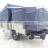 double open off road camper trailer