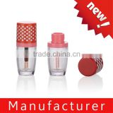 Custom Cute Mini Cylindrical Lip Gloss Container For Wholesalers