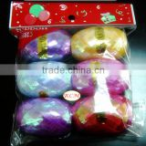 Iridescent Gift Packaging Rainbow Curling Ribbon Egg, Ribbon Roll For Packing Decoration