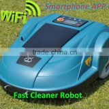 Smartphone App Control Robot Grass Cutter/programmable trimmer line with Water-proofed charger