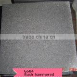 paving stone bush hammered granite g684
