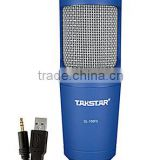 Large diaphragm laptop condenser microphone,Network karaoke recording microphone,USB computer recording microphone