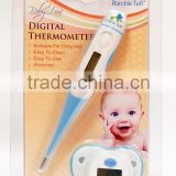 FDA/CE Approval Flexible & Pacifier Digital baby thermometer
