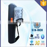 Professional Production !Handheld WinCE PDA Barcode Scanner with Receipt Printer,Wifi,Bluetooth,RFID