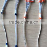 High quality 4 In 1 cable with micro, mini, 4G, 5G, DC in fiber optical cable Factory direct free sample