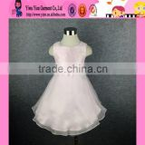 2015 Made In China High Quality Princess Dress Elegant Cheaper Fashion Hand Embroidered Baby Dress