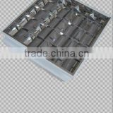 Grille lamp light fixtures surface mount