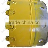 Casing shoe WS39 with flat cutting teeth for pile drilling