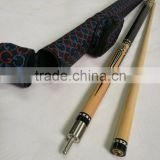 High quality 57 inch Maple wood 1/2 joint billiard pool cue with cue case/ Pool cue set/ Factory promotion