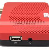 Vmade DZ100 DVB S2 arabic iptv set top box USB 2.0 for PVR,TIMESHIFT,software upgrade and media files playback