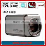 1/4'' SONY 600tvl digital color ccd zoom camera distributor
