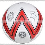 official size and weight match quality hand sewn PU soccer ball/football
