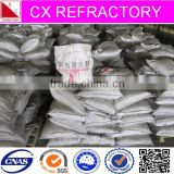 High strength anti-abrasion steel fiber refractory castable for top of Electric Arc Furnace