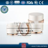 30g 50g white cosmetic acrylic jar with special type, candle cream jar,acrlic cream bottle