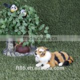 wholesale plush zoo white animal toy tiger taxidermy